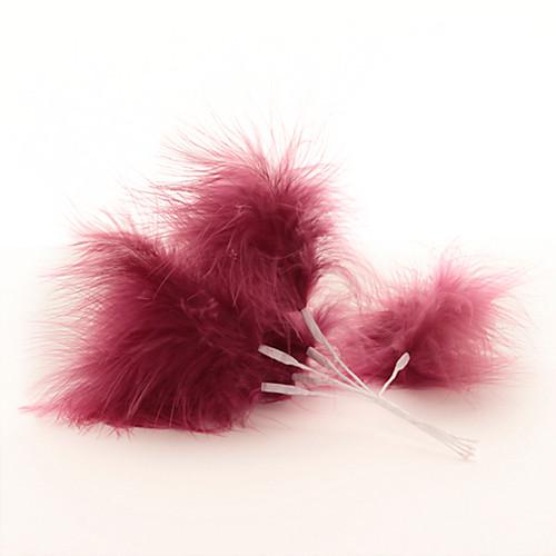 Fluff Feather x 6 Cerise