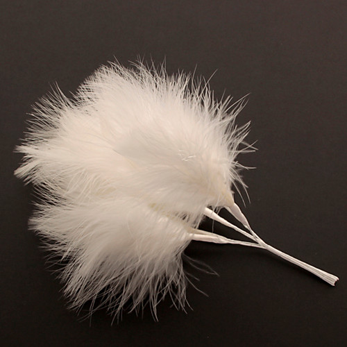 Fluff Feather x 6 Ivory
