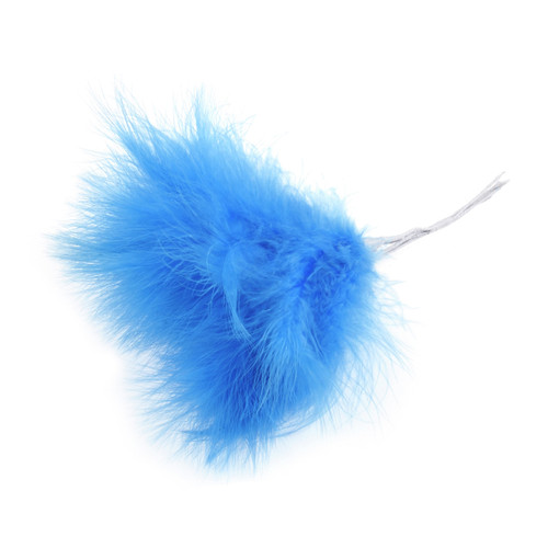 Fluff Feather x 6 Blue