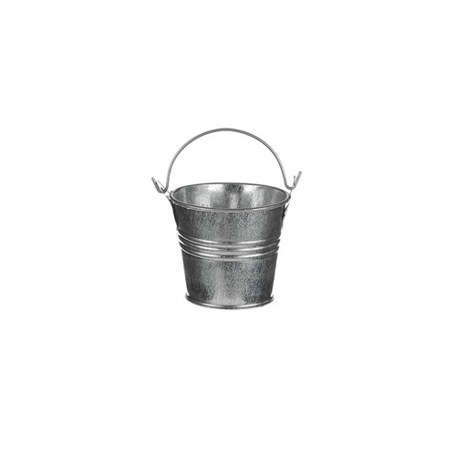 Metal Bucket Galvanised 5cm
