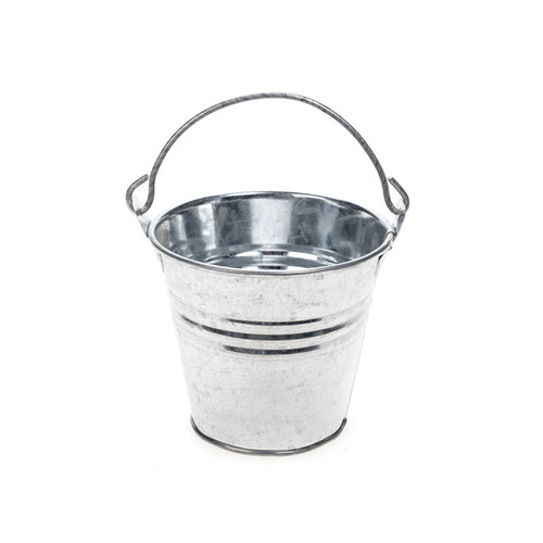 Metal Bucket Galvanised 8cm