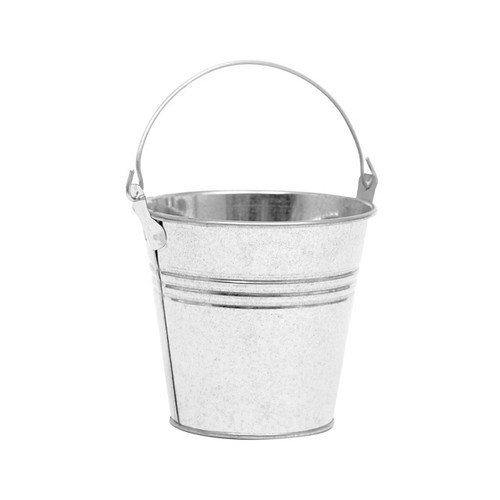 Metal Bucket Galvanised 9.5cm