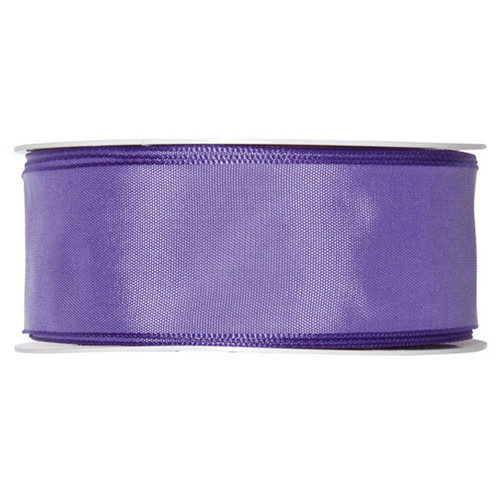 Fabric Ribbon 40mm x 25m Lilac Lavender