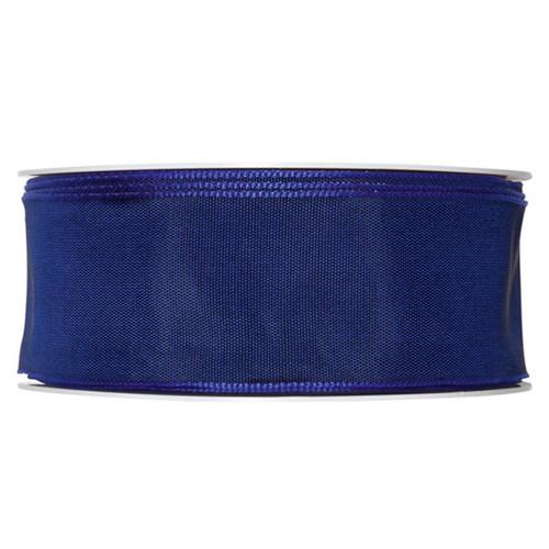Fabric Ribbon 40mm x 25m Navy Blue