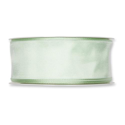 Fabric Ribbon 40mm x 25m Pale Mint