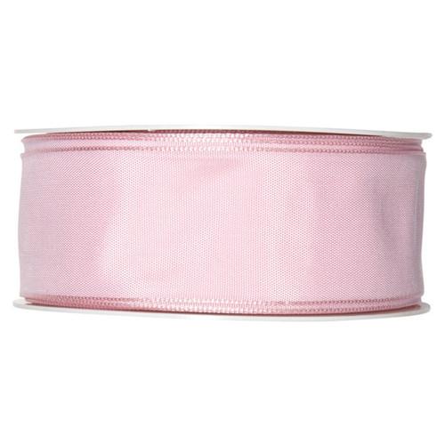 Fabric Ribbon 40mm x 25m Pale Pink