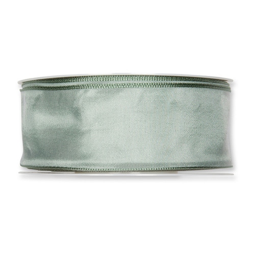 Fabric Ribbon 40mm x 25m Pale Sage