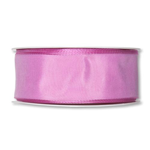 Fabric Ribbon 40mm x 25m Rose