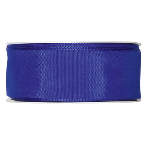 Fabric Ribbon 40mm x 25m Royal Electric Blue