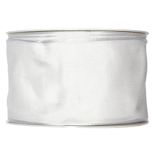 Fabric Ribbon 60mm x 25m Wedding White