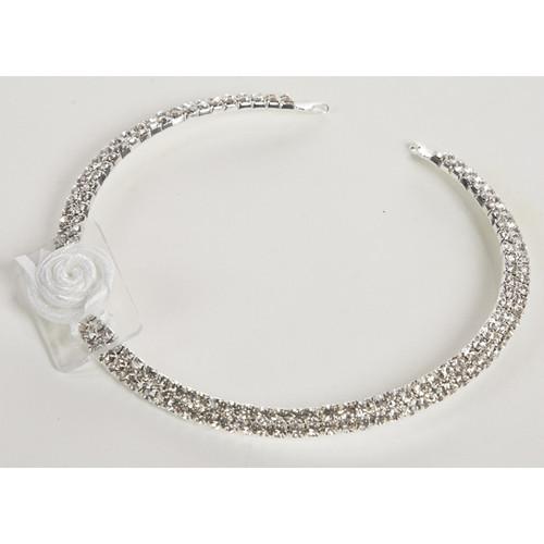 Faux Diamond Diamante Choker Necklace