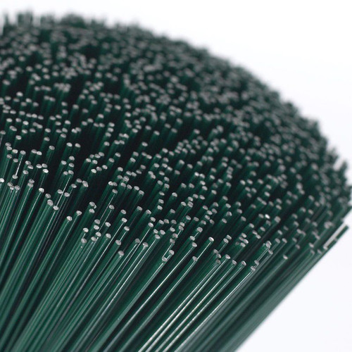 Stub wire Green 0.71 x 180mm (22g x 7 inch) 2.5kg