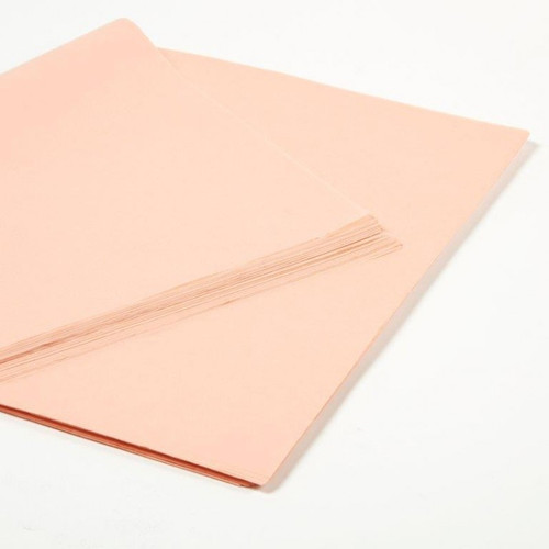 Tissue Paper Peach 240 sheets x 50cm x 75cm