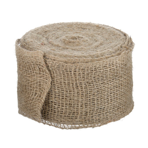 Ribbon Natural Hessian Jute 10cm x 25m