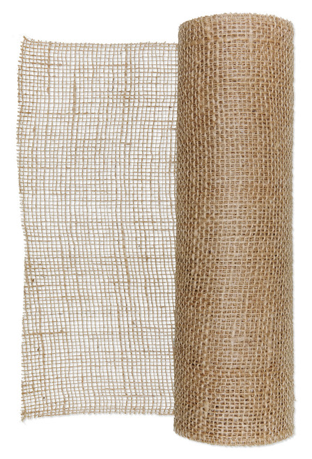 Hessian Jute Fabric Roll  30cm x 5m