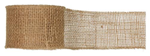 Ribbon Natural Hessian Jute 8cm x 10m