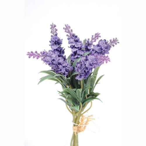 Lavender Bundle Six Purple Blooms 34cm/13 Inches