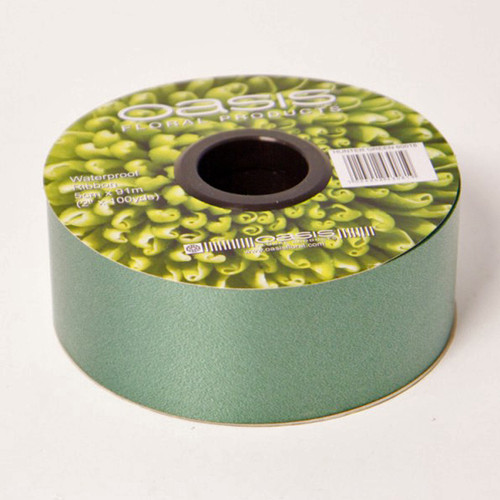 Florist Ribbon Hunter Green