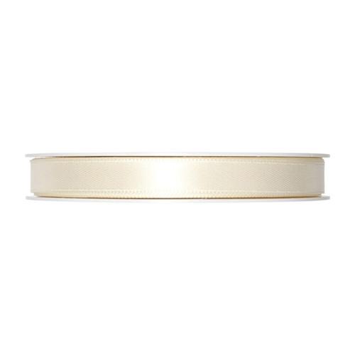 Satin Ribbon 10mm Ivory Cream x 25m