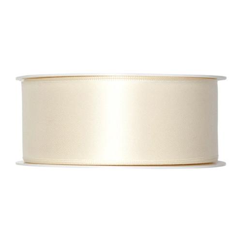 Satin Ribbon 40mm Ivory Cream x 25m