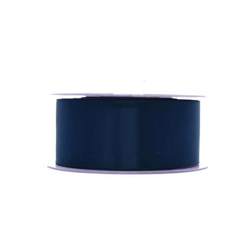 Satin Florist Ribbon Navy Blue 36mm x 20m Roll