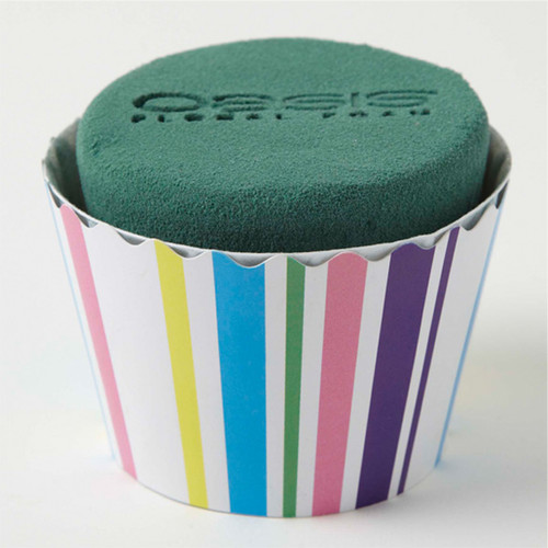 Oasis® Cupcakes Large x 6 Stripes Bold