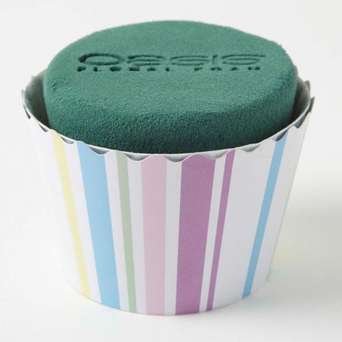 Oasis® Cupcakes Large x 6 Stripes Pastel