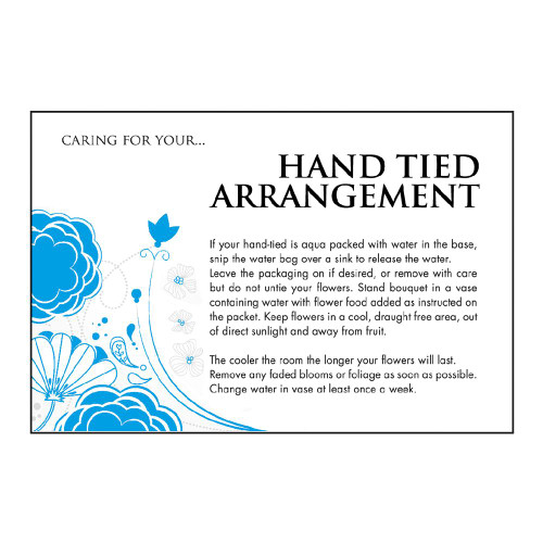Care Card Hand Tied x100
