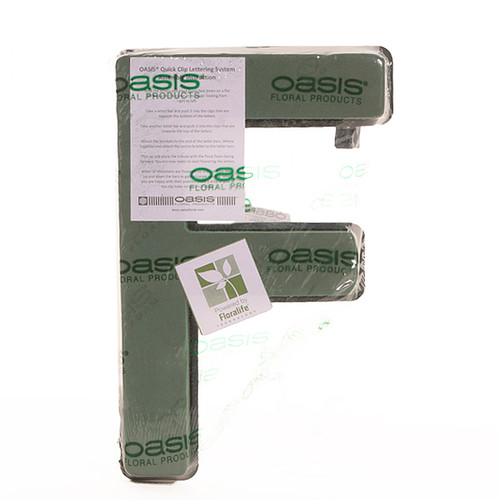 Oasis® Quick Clip Letter F