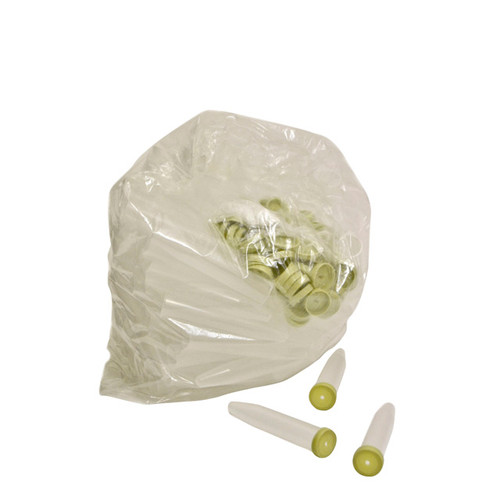 Pack of 100 Flower Tubes with Caps 24cc