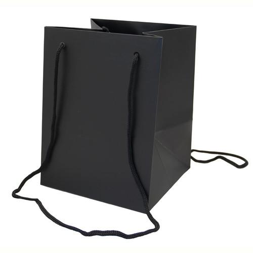 Bouquet Bag 19 x 19 x 25cm Pack of 10 Black