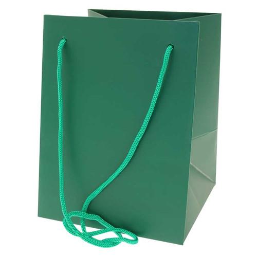 Bouquet Bag 19 x 19 x 25cm Pack of 10 Dark Green