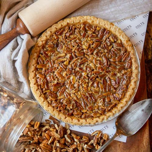 White Chocolate Pecan Pie