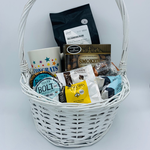 Colts Crema Coffee & Smoked Basket