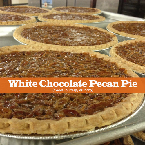 White Chocolate Pecan Pie for the Holidays