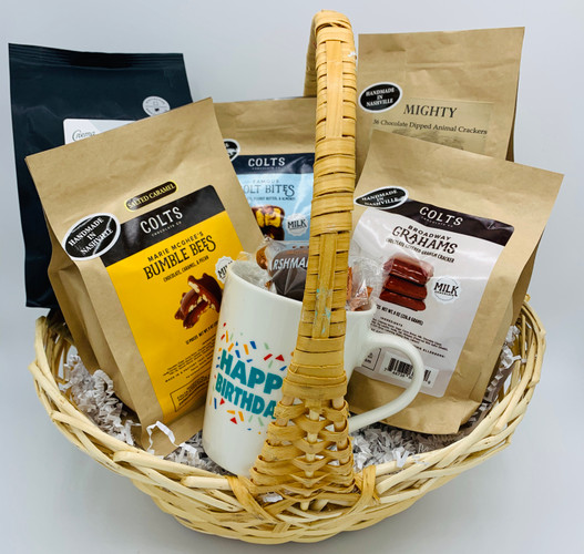 Colts Crema Coffee & Gift Bags Basket