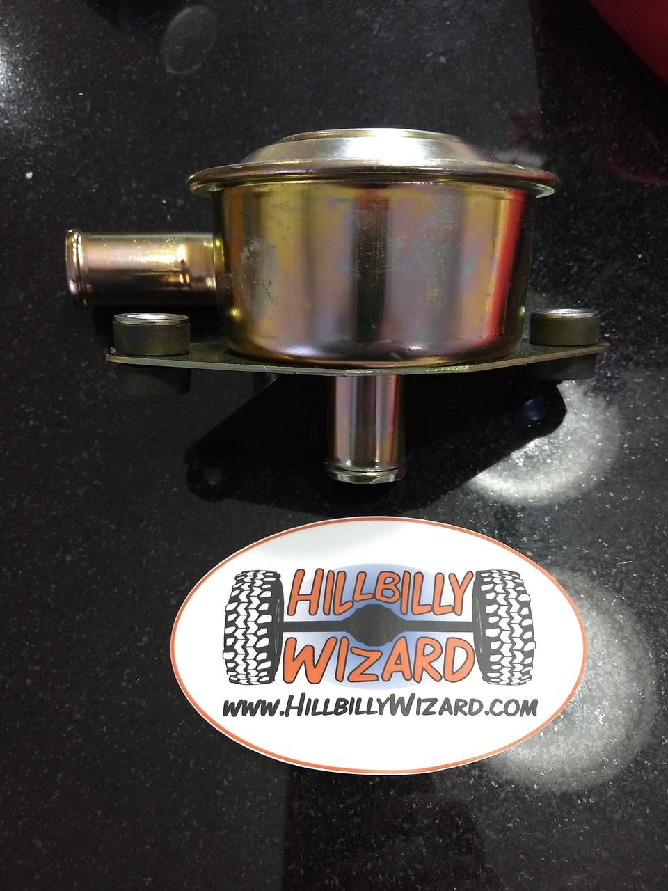 CDR or PCV valve used on J code GM 6.2l diesel.  For use on M998 or CUCV.   P/N 25042462