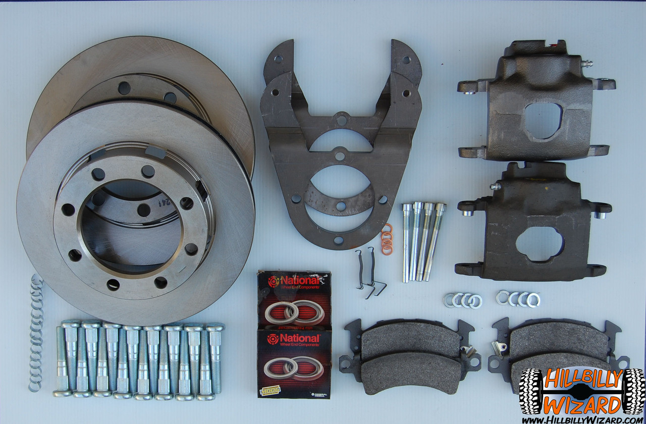 Disc Brake Conversion, Kit
