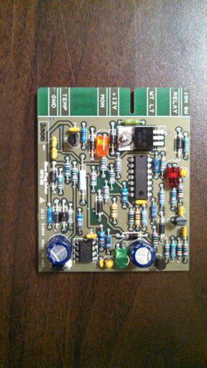 New CUCV glow plug circuit card
