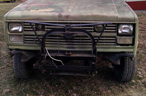CUCV Meyers Plow mount