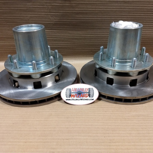 Buy a pair to convert your DRW axle to SRW!
