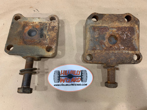 GM D60 U-bolt Plates