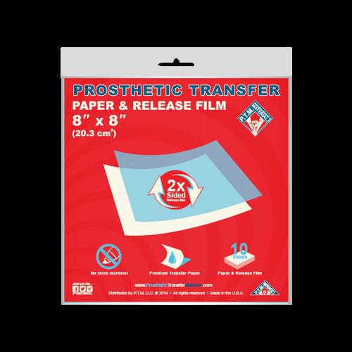 Transfer Paper & Release Film (8x8)