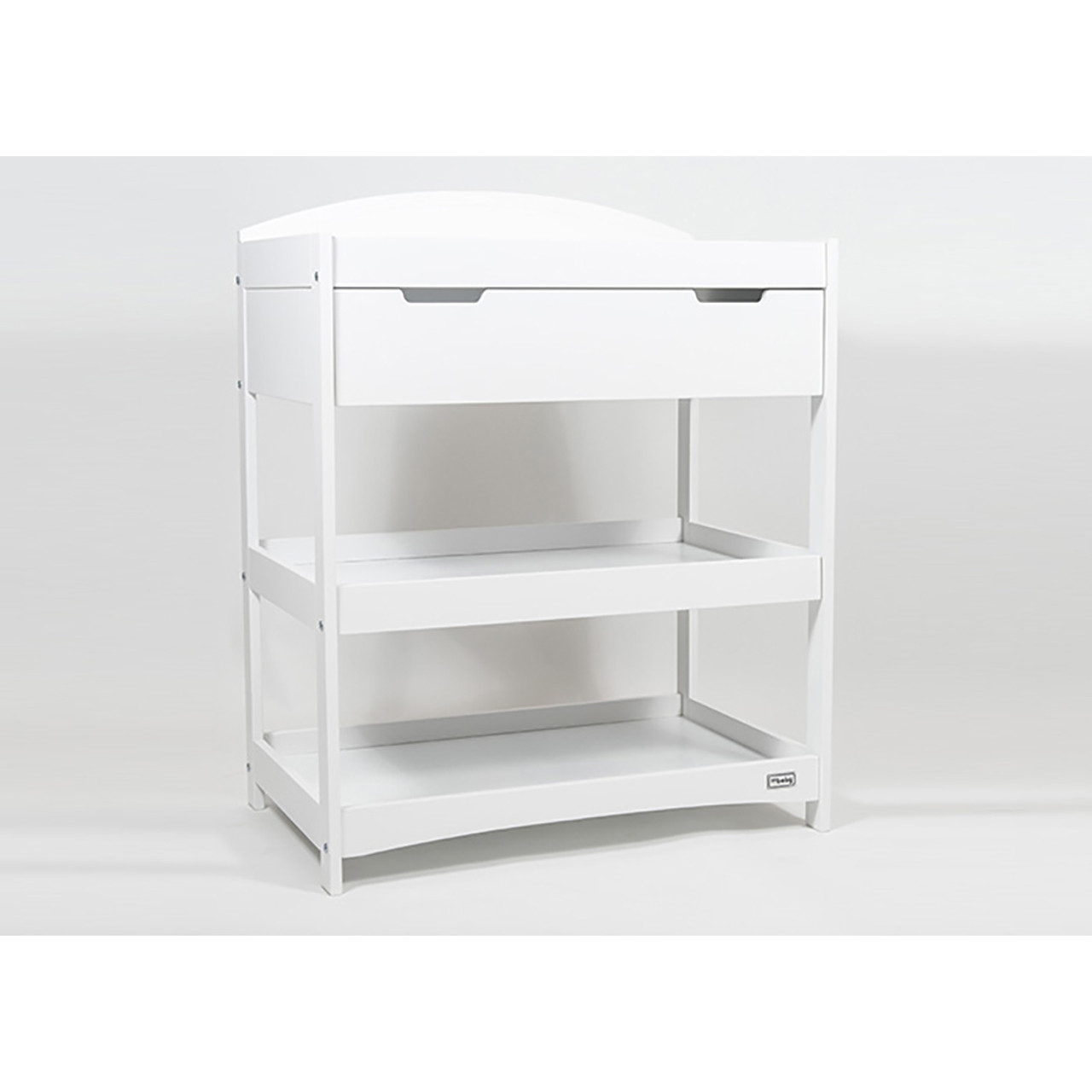 Picture of: Br Baby Stockholm Changing Unit White