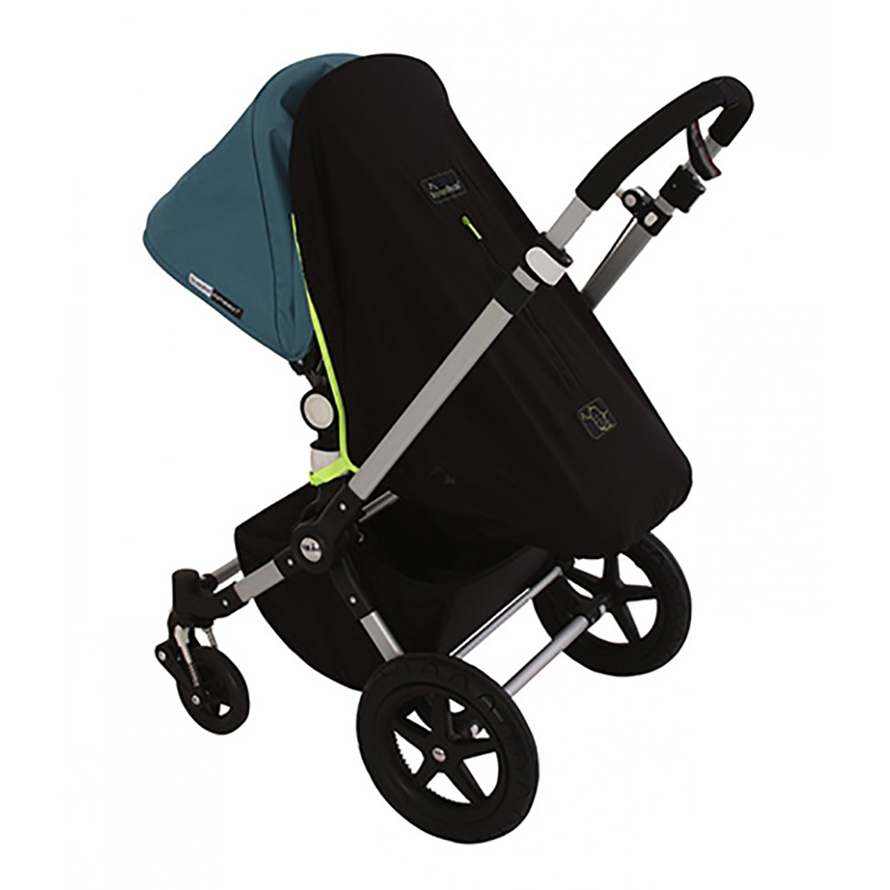 Koo-di Pack It Universal Sun and Sleep Shade For Double Pushchair Stroller