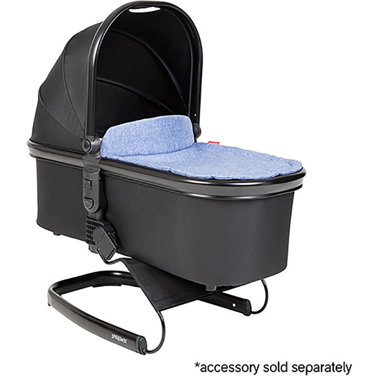 phil/&teds Snug Carrycot for Dash Stroller Black