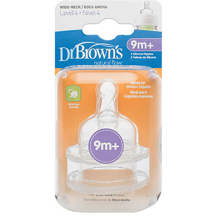 Dr Brown's Options Level 4 Teat 9m+