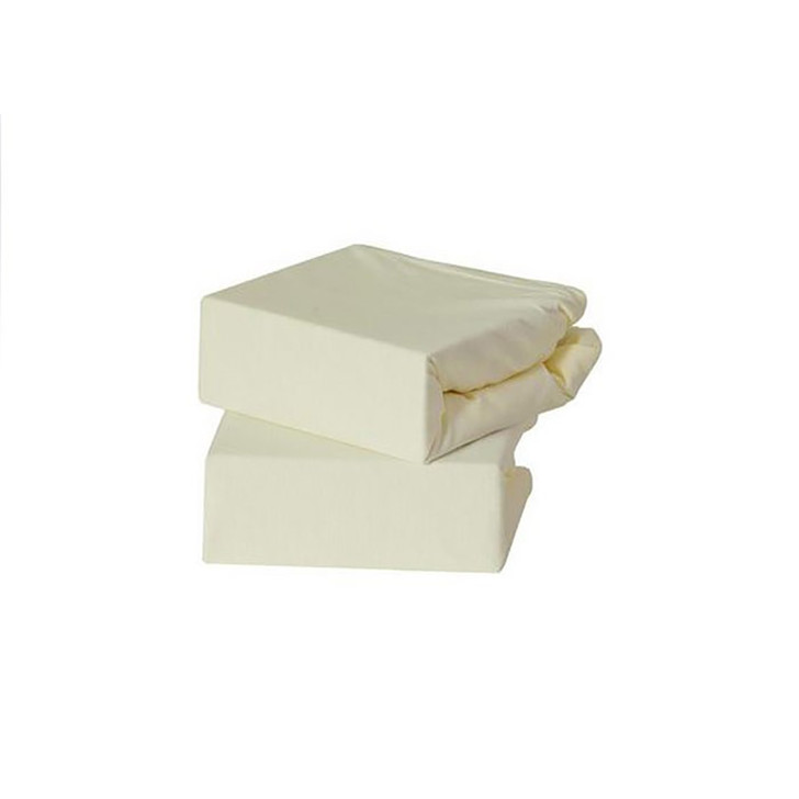 Baby Elegance Jersey Fitted Sheets - Cream