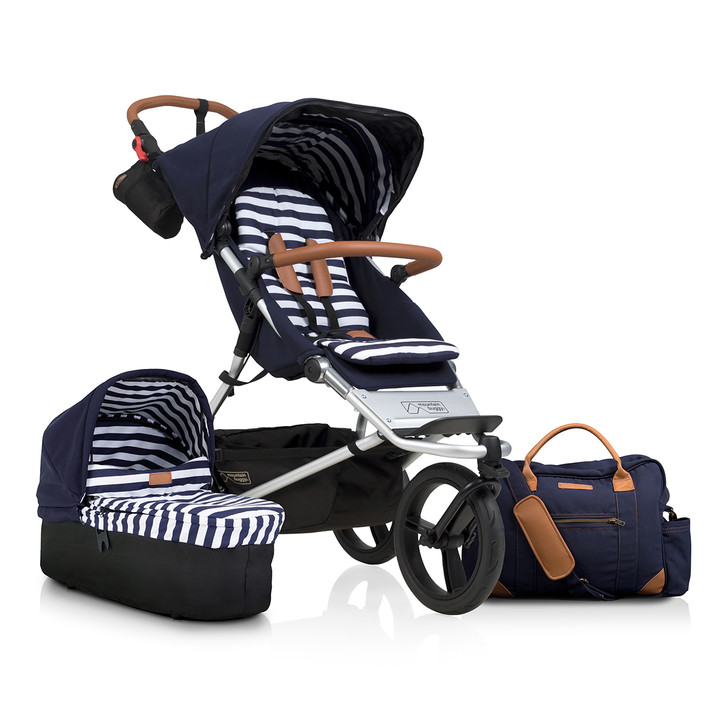 Mountain Buggy Urban Jungle Luxury Buggy - Nautical