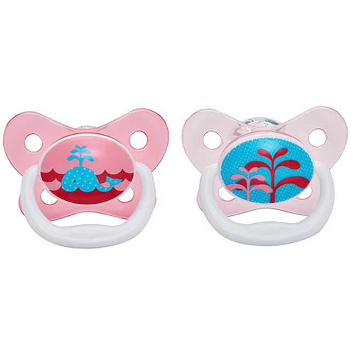 Dr Brown's PreVent Pacifer 6-12 Months - Pink